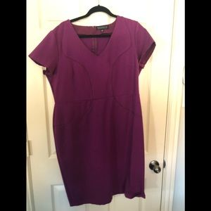 Aline bodycon dress size 20